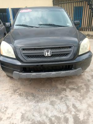 Honda Pilot 2005 EX-L 4x4 (3.5L 6cyl 5A) Black | Cars for sale in Lagos State, Alimosho