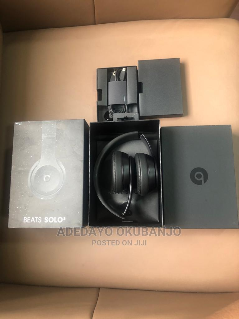 Beat Solo 3 Wireless Headphone - Black
