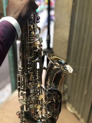Standard Alto Silver Saxophone | Musical Instruments & Gear for sale in Lagos State, Ojo