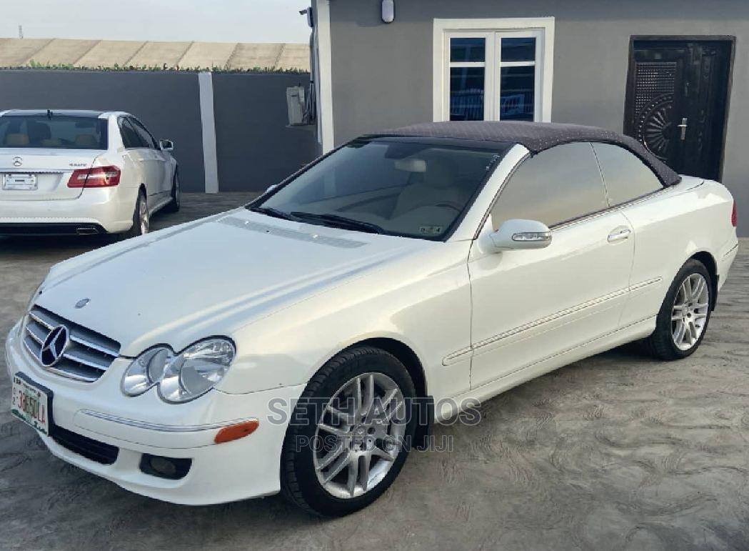 Mercedes-Benz CLK 2010 White | Cars for sale in Ogba, Lagos State, Nigeria