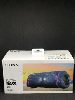 Sony SRS-XB33 EXTRA BASS Wireless Portable Speaker | Audio & Music Equipment for sale in Lagos State, Ikeja