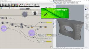 Grasshopper3d Parametric Modeling For Architects & Designers | Classes & Courses for sale in Lagos State, Magodo