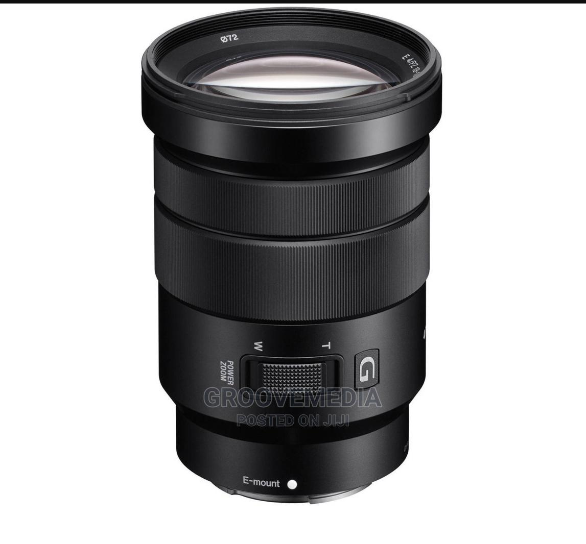 Sony E Pz 18-105mm F4 G Oss Lens | Accessories & Supplies for Electronics for sale in Ikeja, Lagos State, Nigeria