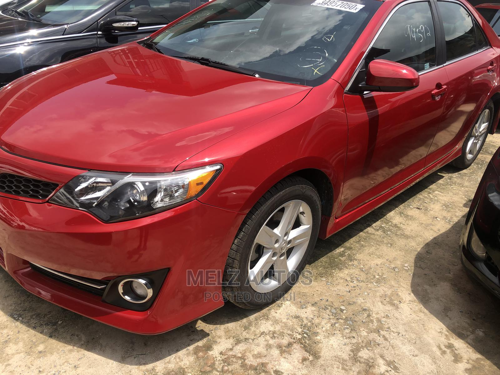 Toyota Camry 2012 Red   Cars for sale in Yaba, Lagos State, Nigeria