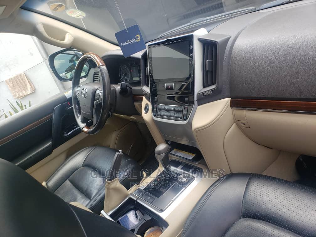 Toyota Land Cruiser 2016 5.7 V8 VXR Black   Cars for sale in Victoria Island, Lagos State, Nigeria
