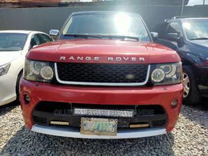 Land Rover Range Rover Sport 2008 4.2 V8 SC Red | Cars for sale in Lagos State, Ikeja