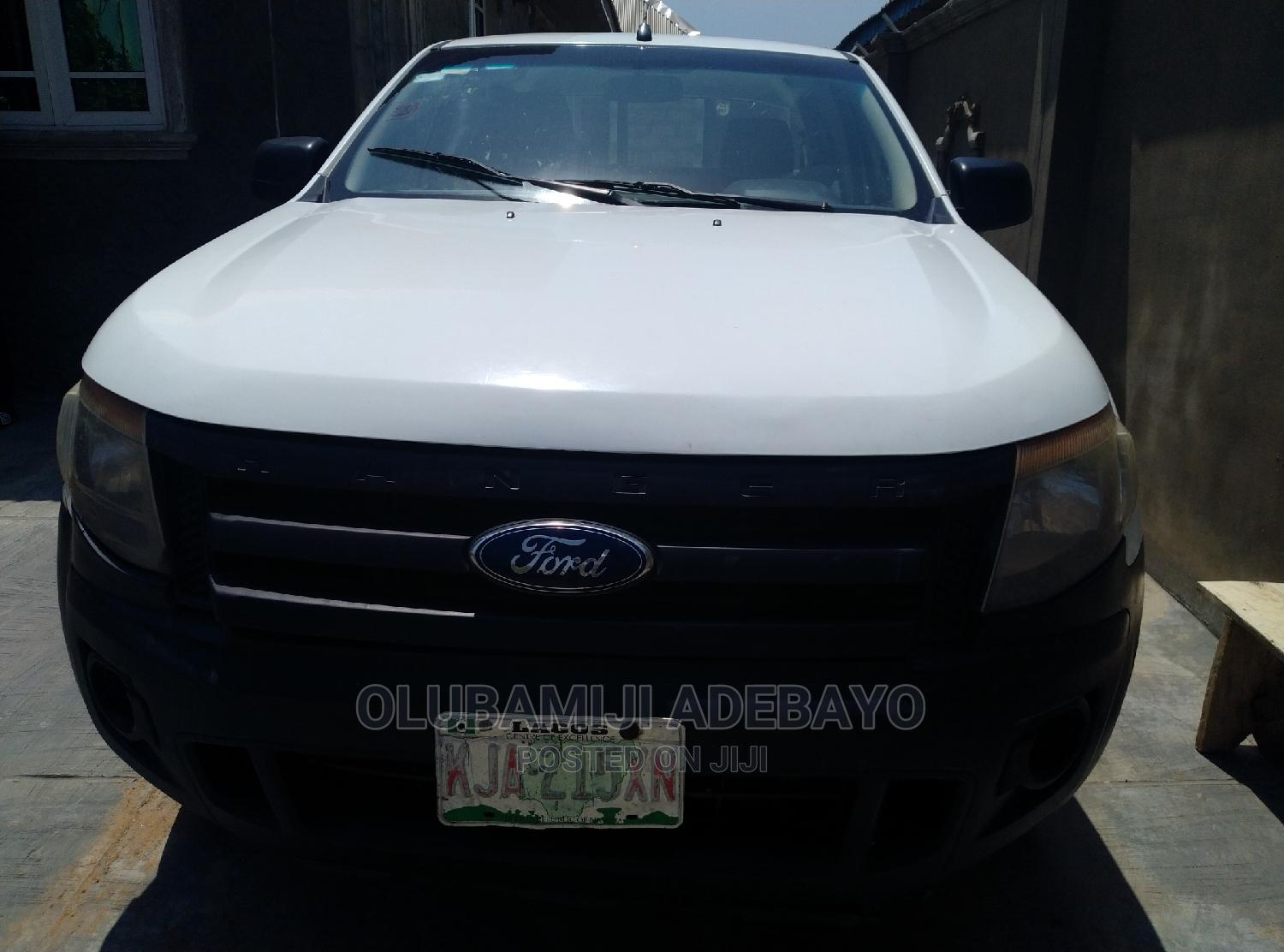 Ford Ranger 2014 White   Cars for sale in Iwo, Osun State, Nigeria