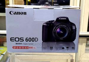 Canon DSLR Camera EOS 600D With 18-55mm Lens | Photo & Video Cameras for sale in Lagos State, Ikeja