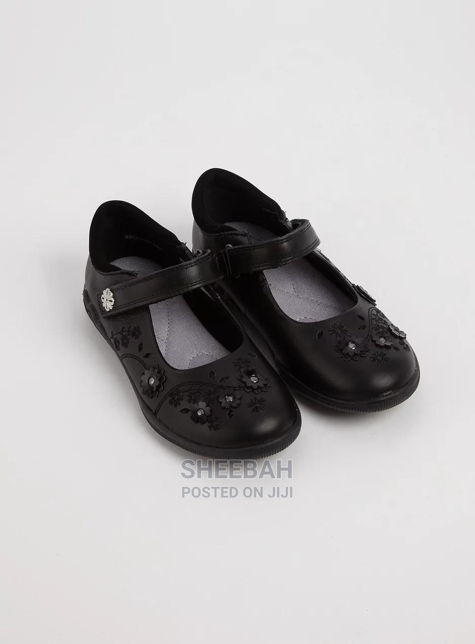 TU Mary Jane Velcro School Shoe