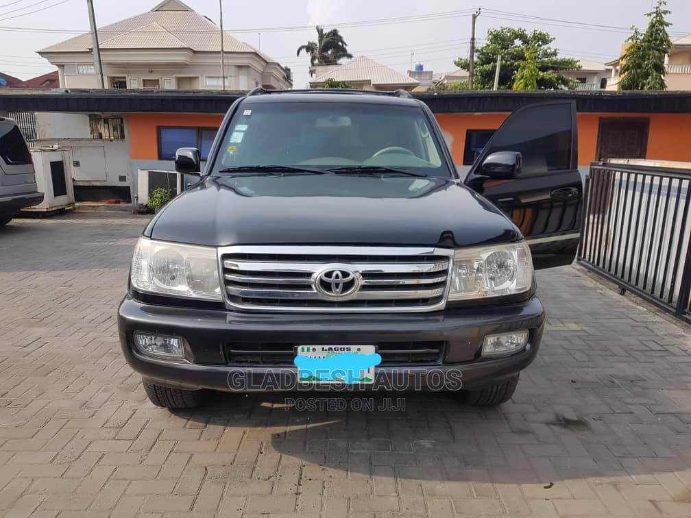 Toyota Land Cruiser 2008 100 4.7 Executive Black | Cars for sale in Lekki, Lagos State, Nigeria