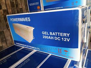 200ah 12v Powerwaves Deep Cycle Battery   Solar Energy for sale in Lagos State, Ojo