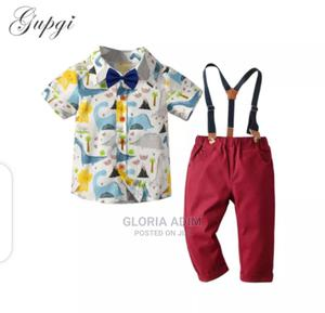 4pcs,Shirt,Tie, and Trouser   Children's Clothing for sale in Lagos State, Surulere