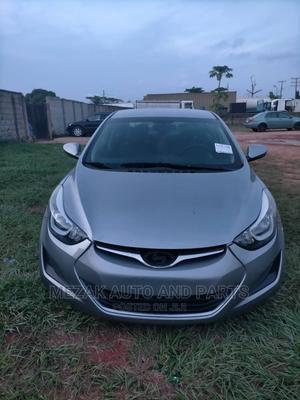 Hyundai Elantra 2015 Gray   Cars for sale in Lagos State, Alimosho