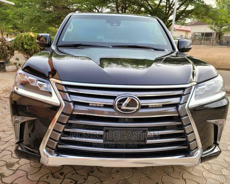 New Lexus LX 2021 Black