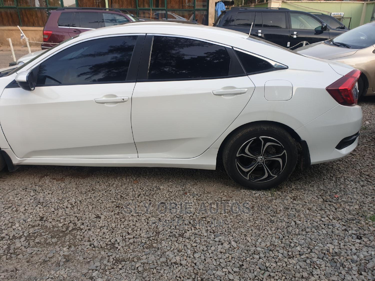Honda Civic 2016 White | Cars for sale in Garki 2, Abuja (FCT) State, Nigeria