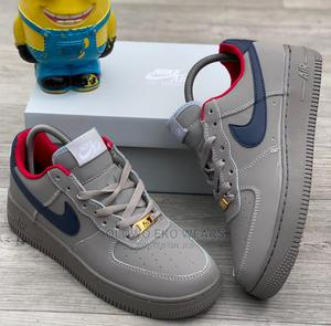 Nike Air Force 1 Gray Colour Sneakers | Shoes for sale in Lagos State, Lagos Island (Eko)