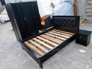 (6/4.5) Bedfram With (4 /6) Wardrobe | Furniture for sale in Lagos State, Ojo