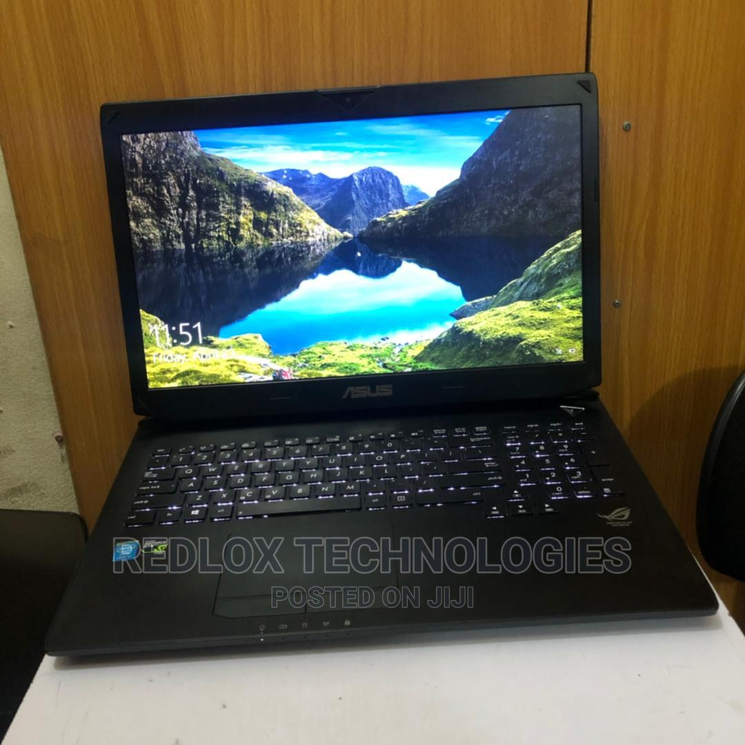 Laptop Asus ROG G750JX 16GB Intel Core I7 HDD 1T | Laptops & Computers for sale in Ikeja, Lagos State, Nigeria