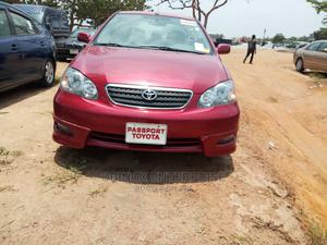 Toyota Corolla 2006 S Red   Cars for sale in Abuja (FCT) State, Durumi