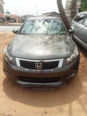 Honda Accord 2008 3.5 EX Automatic Gray   Cars for sale in Lagos State, Alimosho