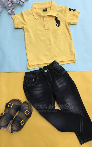 Ralph Lauren Polo Shirt - Yellow   Children's Clothing for sale in Oyo State, Ibadan