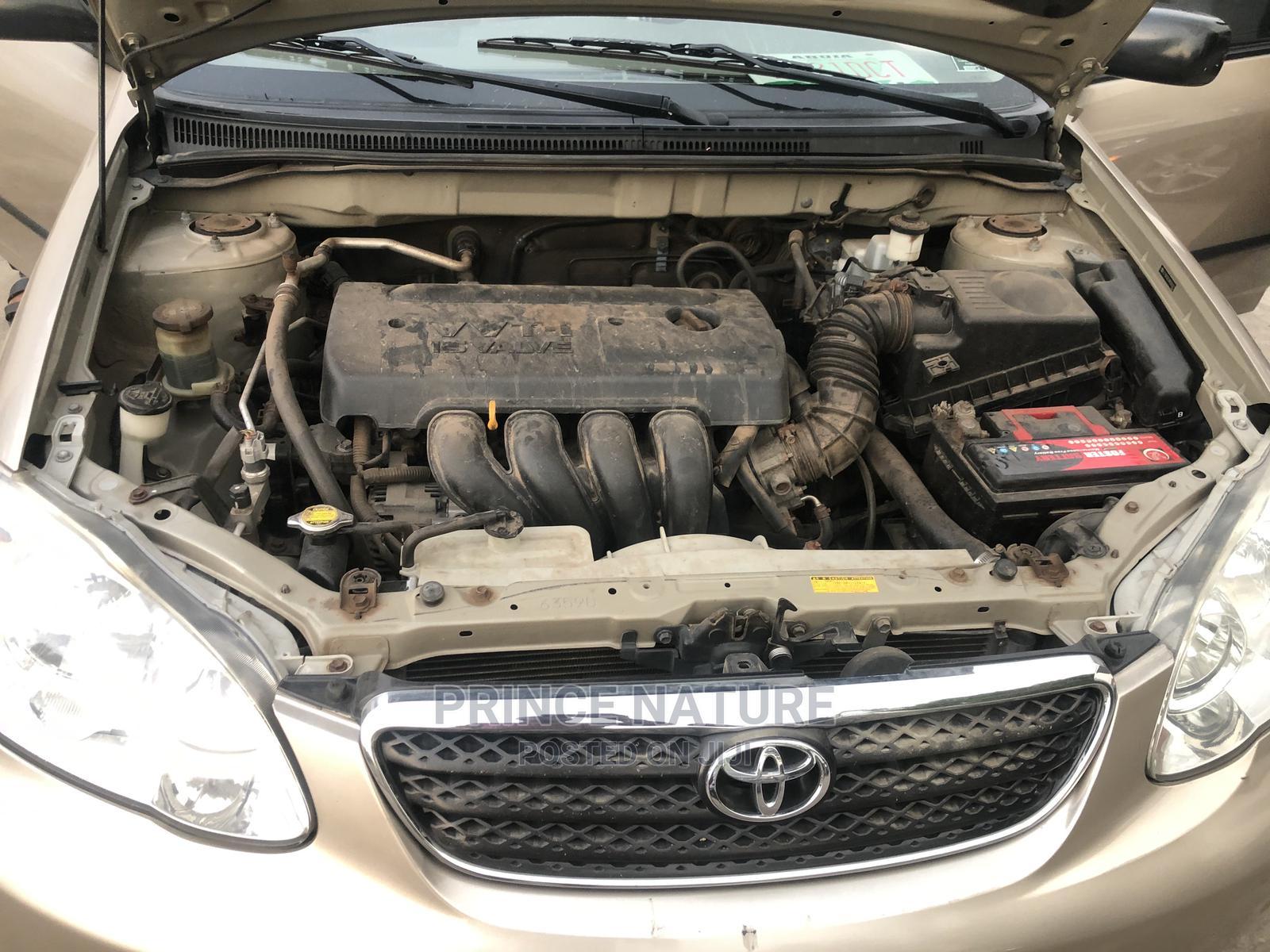 Archive: Toyota Corolla 2008 1.8 LE Gold