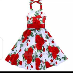 Beautiful Floral Print Dress   Children's Clothing for sale in Lagos State, Surulere
