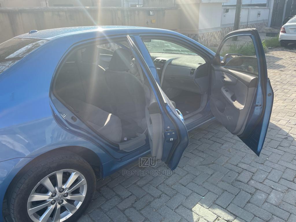 Toyota Corolla 2009 1.8 Advanced Blue | Cars for sale in Lekki, Lagos State, Nigeria