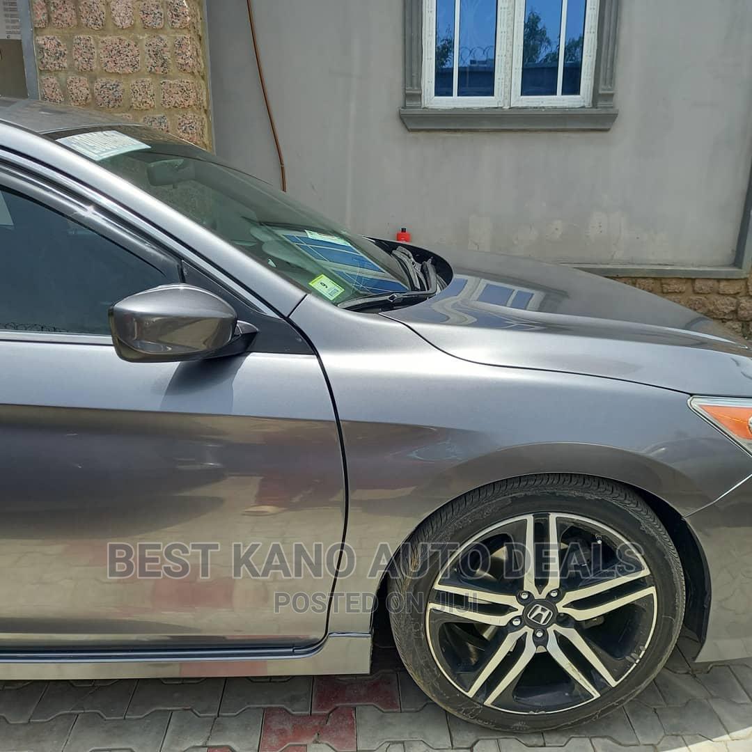 Honda Accord 2016 Gray | Cars for sale in Kano Municipal, Kano State, Nigeria