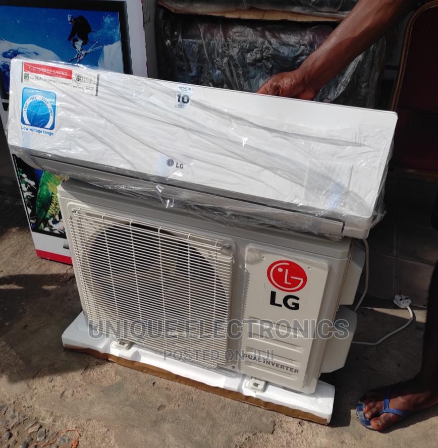 LG AC 1.5-Hp Gen Cool Low Voltage Inverter Copper + KIT