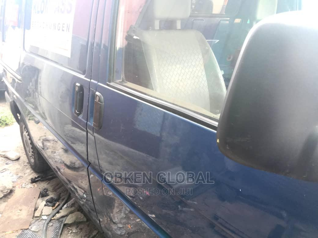 Blue Volkswagen Transporter Short Frame | Buses & Microbuses for sale in Apapa, Lagos State, Nigeria