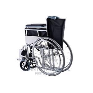 Lightweight Portable Folding Manual Wheelchair   Medical Supplies & Equipment for sale in Abuja (FCT) State, Garki 1