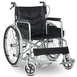 Portable Folding Manual Wheelchair   Medical Supplies & Equipment for sale in Abuja (FCT) State, Kubwa