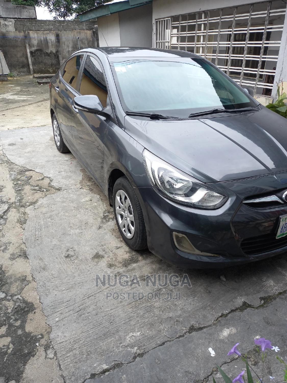 Hyundai Accent 2012 GLS Automatic Gray
