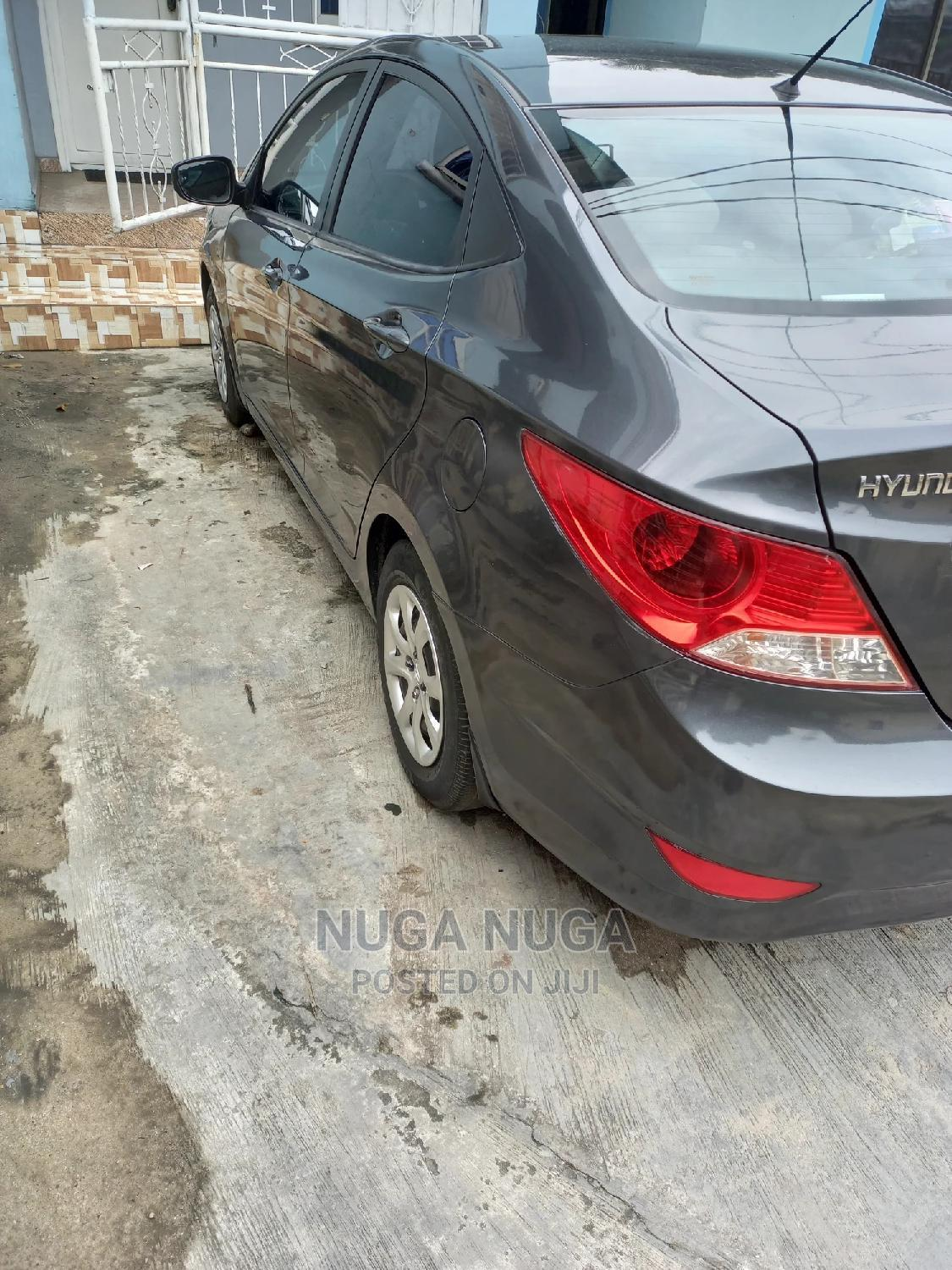 Hyundai Accent 2012 GLS Automatic Gray | Cars for sale in Port-Harcourt, Rivers State, Nigeria
