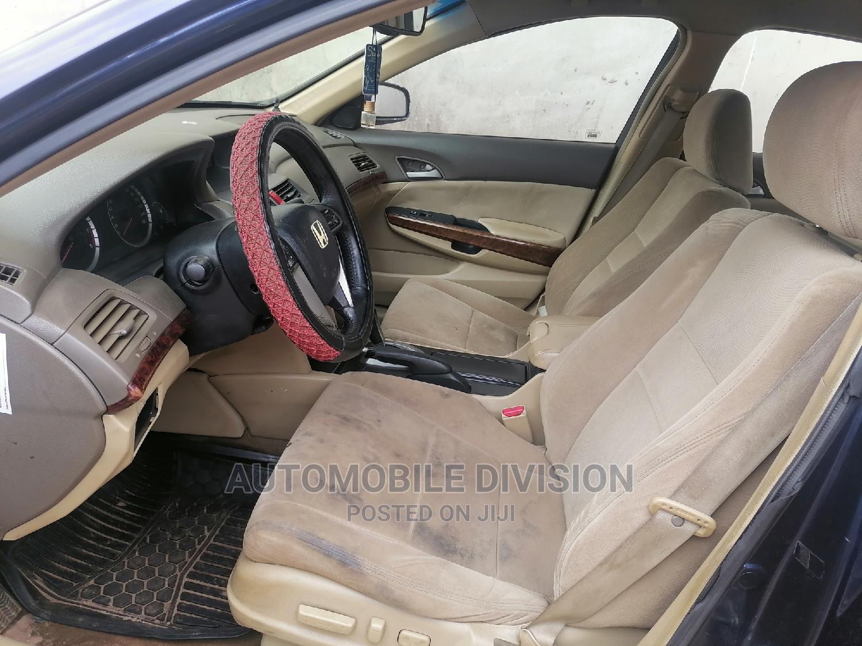 Honda Accord 2009 2.0 I-Vtec Blue | Cars for sale in Ikeja, Lagos State, Nigeria