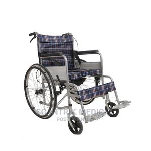 High Quality Manual Steel Lightweight Hospital Wheelchair   Medical Supplies & Equipment for sale in Abuja (FCT) State, Wuse 2