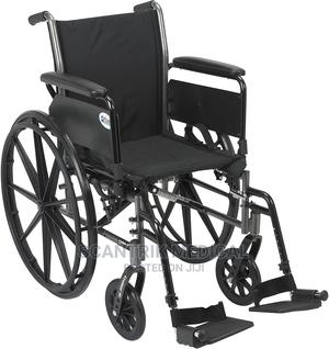 Strong and Sturdy Wheelchair | Medical Supplies & Equipment for sale in Abuja (FCT) State, Jiwa