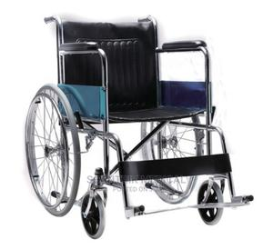 Good Quality Lightweight Folding Manual Wheelchair   Medical Supplies & Equipment for sale in Abuja (FCT) State, Gwarinpa