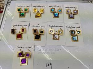 Stainless Steel Earrings and Pendant | Jewelry for sale in Lagos State, Amuwo-Odofin