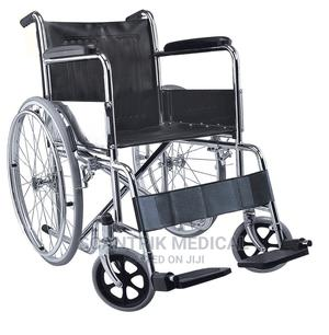 Durable and Affordable Hospital Leather Armrest Wheelchair   Medical Supplies & Equipment for sale in Abuja (FCT) State, Zuba