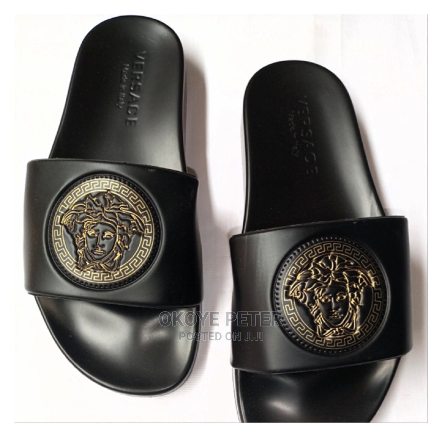 Versace Inspired Slide Pam | Shoes for sale in Ikeja, Lagos State, Nigeria