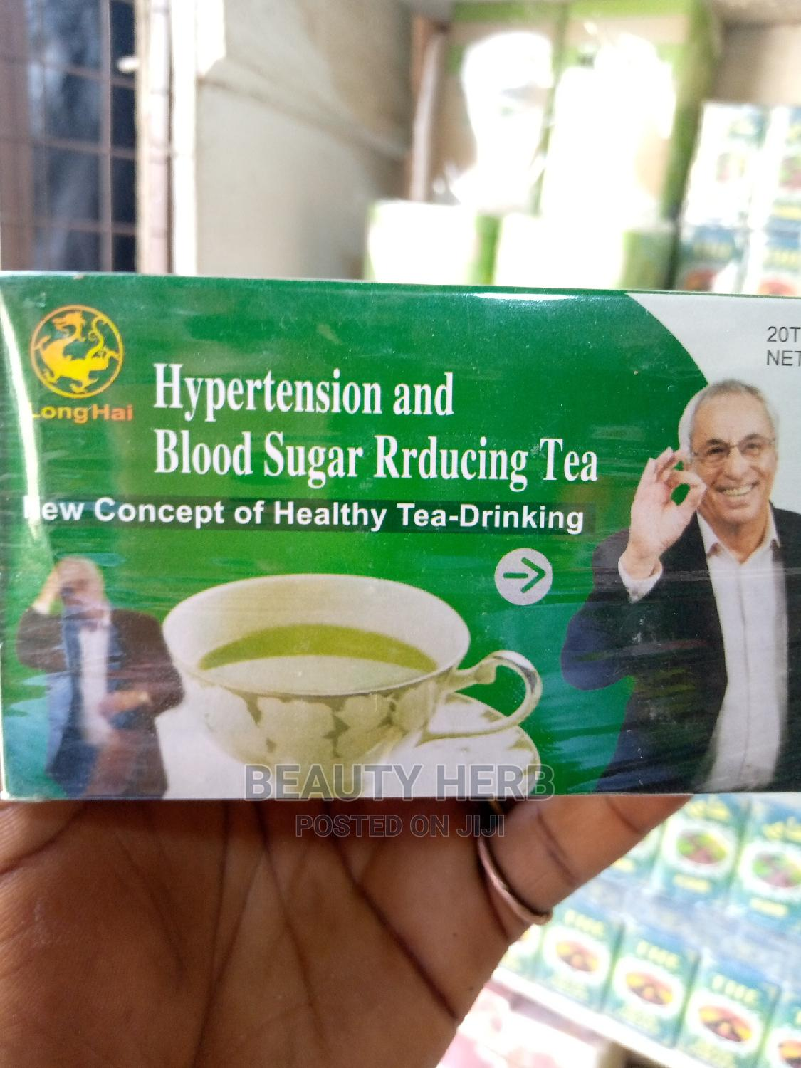 Herbal Tea for Hypertension and Blood Sugar Reducing