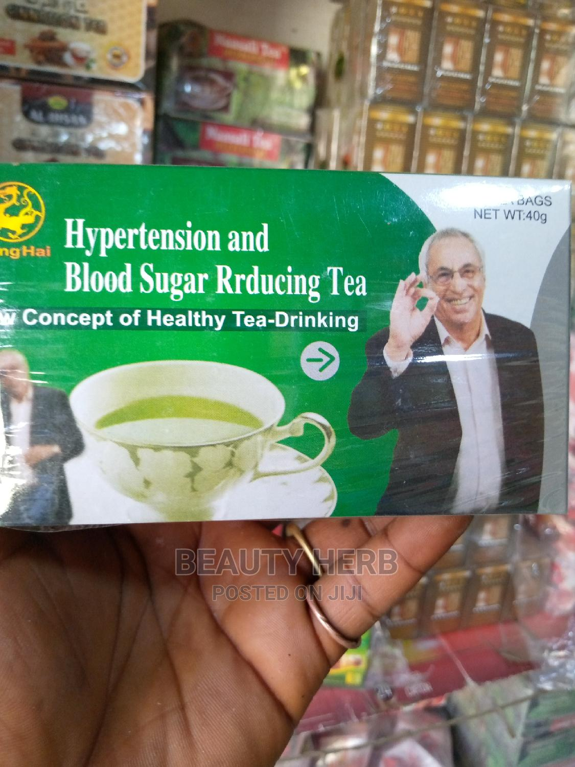 Herbal Tea for Hypertension and Blood Sugar Reducing | Vitamins & Supplements for sale in Lugbe District, Abuja (FCT) State, Nigeria