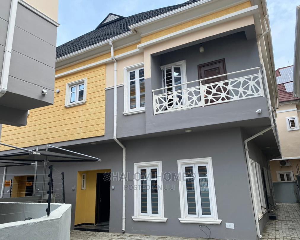 Decent 4 Bedroom Semi Detached Duplex With Good Finishing