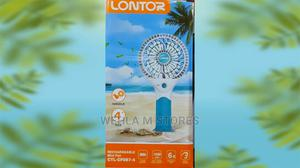 Lontor Rechargeable Mini FAN - CTL-CF087-4 | Home Accessories for sale in Lagos State, Ikotun/Igando