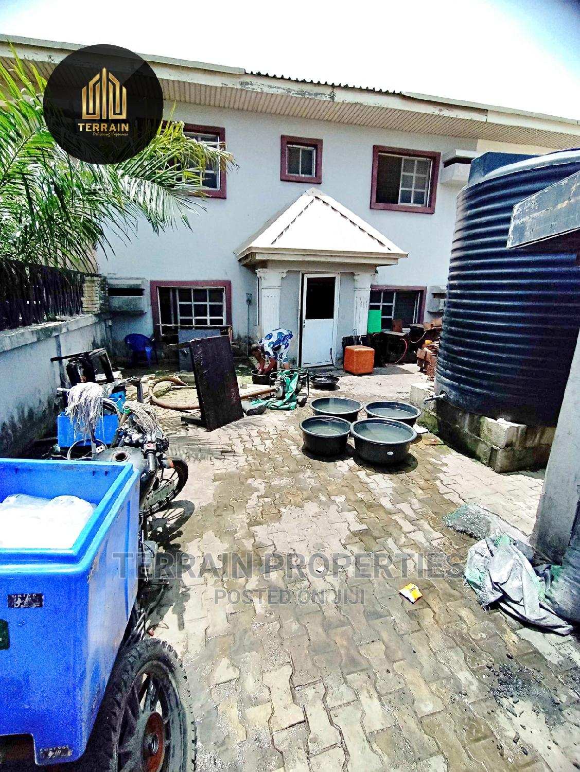 4 Bedroom Terrace With Self Compound Distress Sale!