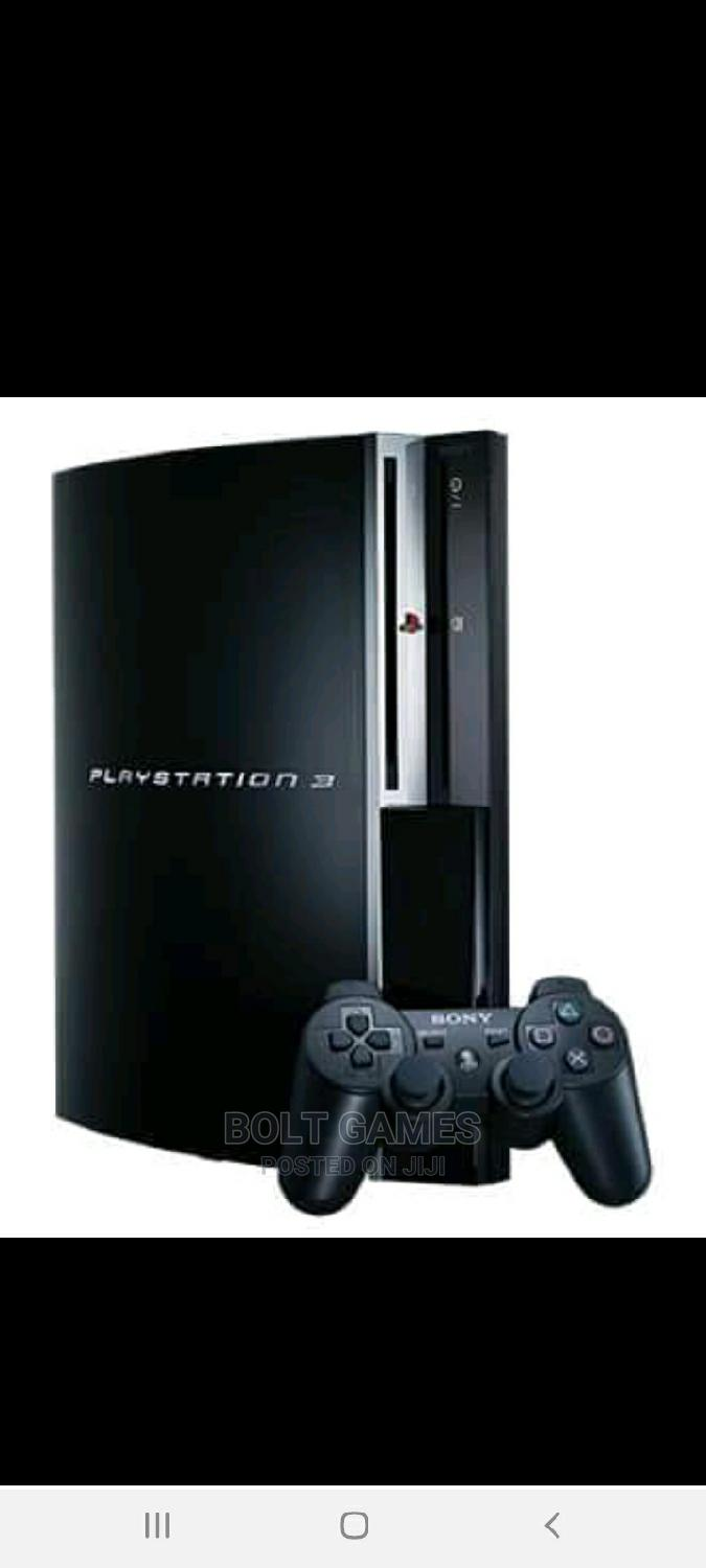 Archive: Playstation 3 Fat With 10 Games