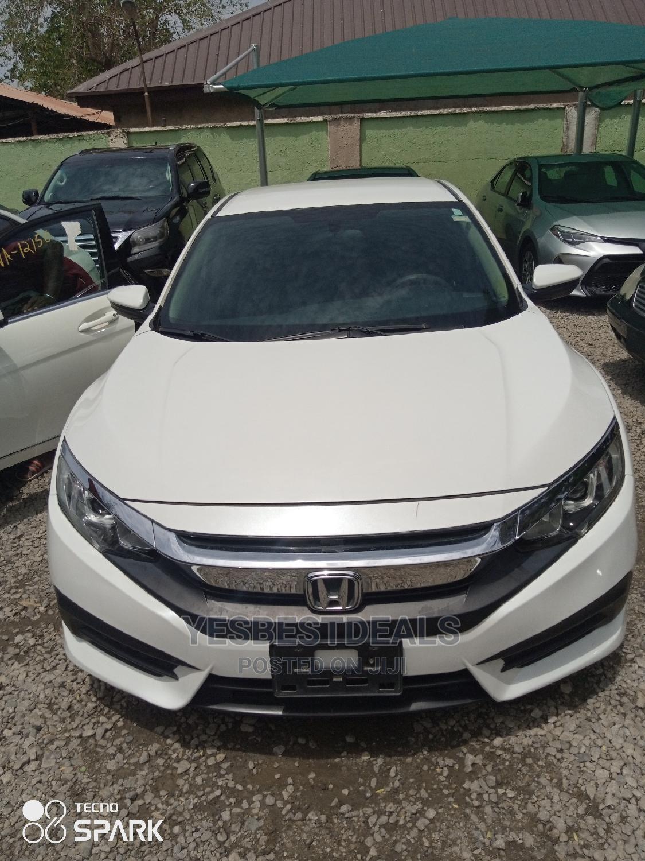 Honda Civic 2016 LX 4dr Sedan (2.0L 4cyl) White