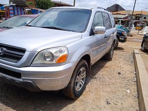 Honda Pilot 2005 Silver | Cars for sale in Lagos State, Abule Egba